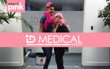 Leading medical recruiter blushes pink with pride to support Breast Cancer Now