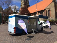 Beratungsmobil der Unabhängigen Patientenberatung kommt am 2. Juli nach Flensburg.