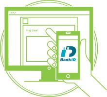 Nyhetsbrev från BankID där Kivras produktchef intervjuas