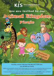 Come and Explore at the Animal Kingdom Picnic!