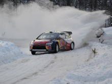 VÄLKOMMEN TILL CITROËN UNDER RALLY SWEDEN