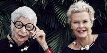 Efva Attling i höstkollektion inspirerad av modeikonen Iris Apfel – exklusivt för Synsam