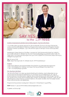 Invitation til presseevent: Say Yes to the Dress