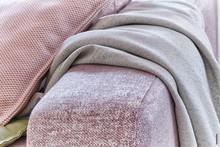 Textilkollektion man vill ta på