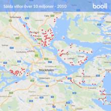 Här är årets dyraste stockholmsvillor