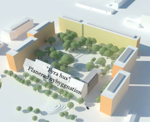 Detaljplanen godkänd för Järfällahus bostadsbygge i centrala Jakobsberg