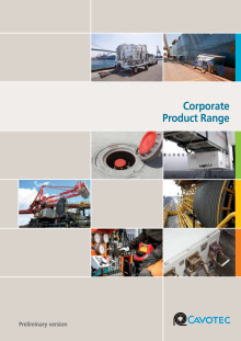 Cavotec Product Range brochure - an overview of the Cavotec Group, our market units and our technologies.