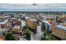 Ramirent levererar när NCC bygger ny armeringsfabrik i Norrköping