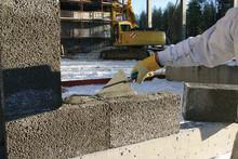 Kulde ingen hindring for betong og mørtel