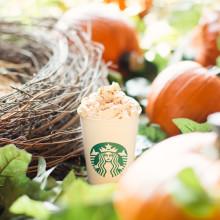 Nu är hösten officiellt här! Pumpkin Spice Latte är tillbaka.