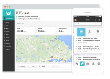 Samarbete mellan Hantverksdata och Automile effektiviserar körjournalen för hantverkarna