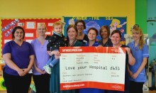 Southern staff vote to donate £651 to coastal charity