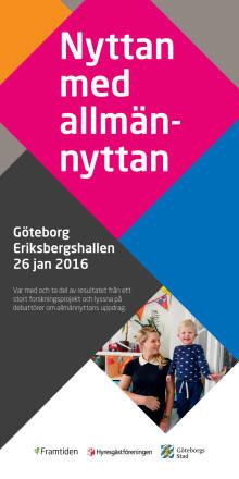 Konferensprogram: Nyttan med allmännyttan