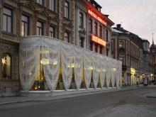 Hotel Baltics nya paviljong väcker uppmärksamhet