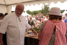 Matmarknad Läckö Slott 6 juli - Skaraborgs mästerkock koras av Leif Mannerström