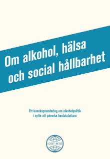 Nytt studiematerial: Om alkohol, hälsa och social hållbarhet