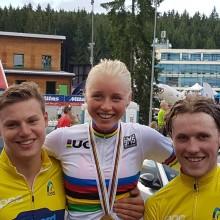 VM-Guld till Ida Jansson!