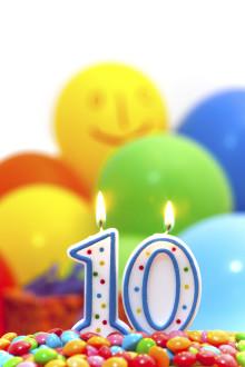 10 års fødselsdag - EnergiMidt fejrer første fiberkunde i Skive