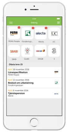 Pema skickar nu sina lönespecifikationer digitalt och säkert via Kivra