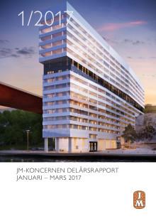 JM-KONCERNEN DELÅRSRAPPORT   JANUARI – MARS 2017
