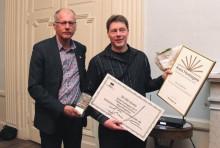 Österbyföretag utsett till Årets Företagare i Östhammars kommun