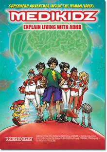 Karamellsmakande amfetamintabletter till ADHD-barn som görs till superhjältar