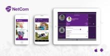 Nya och uppdaterade applikationer för webb och mobiler till NetCom