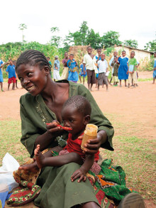 International drive to alleviate child malnutrition
