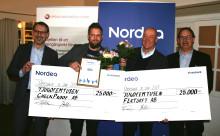 Fertsoft och CheckProof vann Nordeas resestipendium 2017