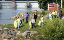 100 ton skräp uppstädat hittills - nu drar Älvstädar-SM igång