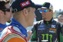 Fords rallystjärnor Ken Block och Mikko Hirvonen är med och lanserar TV-spelet DiRT 3