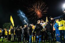 Torsdagen den 7 november firar vi Mjällby AIF:s återtåg till Allsvenskan