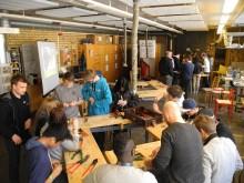 Rekordstort elevintresse för plåtslageri i Falun