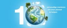 10 eenvoudige manieren om het milieu te helpen
