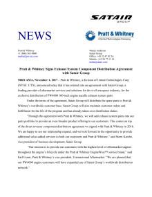 Press Release Satair Group Pratt & Whitney (PDF)