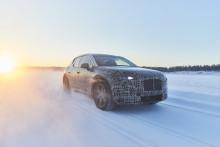 BMW:s tekniska flaggskepp testas just nu i Arjeplog