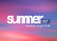 Summer Design Week bjuder in till designfest!