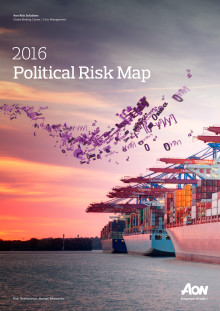Broschyr | Aon Political Risk Map 2016