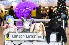 Reunite-TED: London Luton Airport helps get lost toys back to their owners