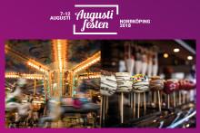 Tivoli och marknad på Augustifesten 2018