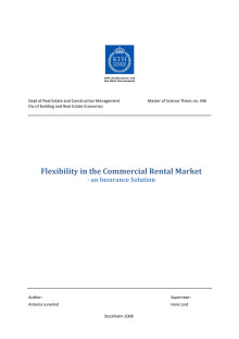 Vinnare av Stora Property-priset 2009: Flexibility in the Commercial Rental Market