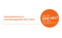 """Bundesentwicklungsminister Dr. Gerd Müller zeichnet Schülerinnen und Schüler des Schulwettbewerbs zur Entwicklungspolitik """"alle für EINE WELT für alle"""" aus"""