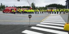 Työturvallisuuden harjoitusalueen avajaisia vietettiin 23.8.2017 - Ramirent vahvasti mukana