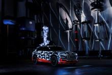 Lynopladning af Audi e-tron