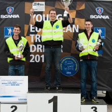 Danmarks bedste lastbilchauffør kåret