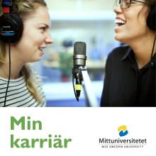 Valentin&Byhr använder podcast för att rekrytera studenter till Mittuniversitetet