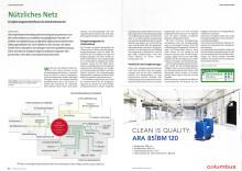 """Pressestimmen: """"Nützliches Netz: Energiemanagementsoftware als Datenknotenpunkt"""" in Der Betriebsleiter"""