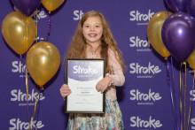 Stockton-on-Tees child stroke survivor receives regional recognition