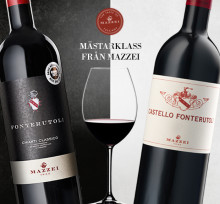 Mästarklass från Mazzei - dubbla framgångar för Fonterutoli