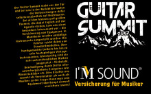 Guitar Summit: I'M SOUND als Partner dabei
